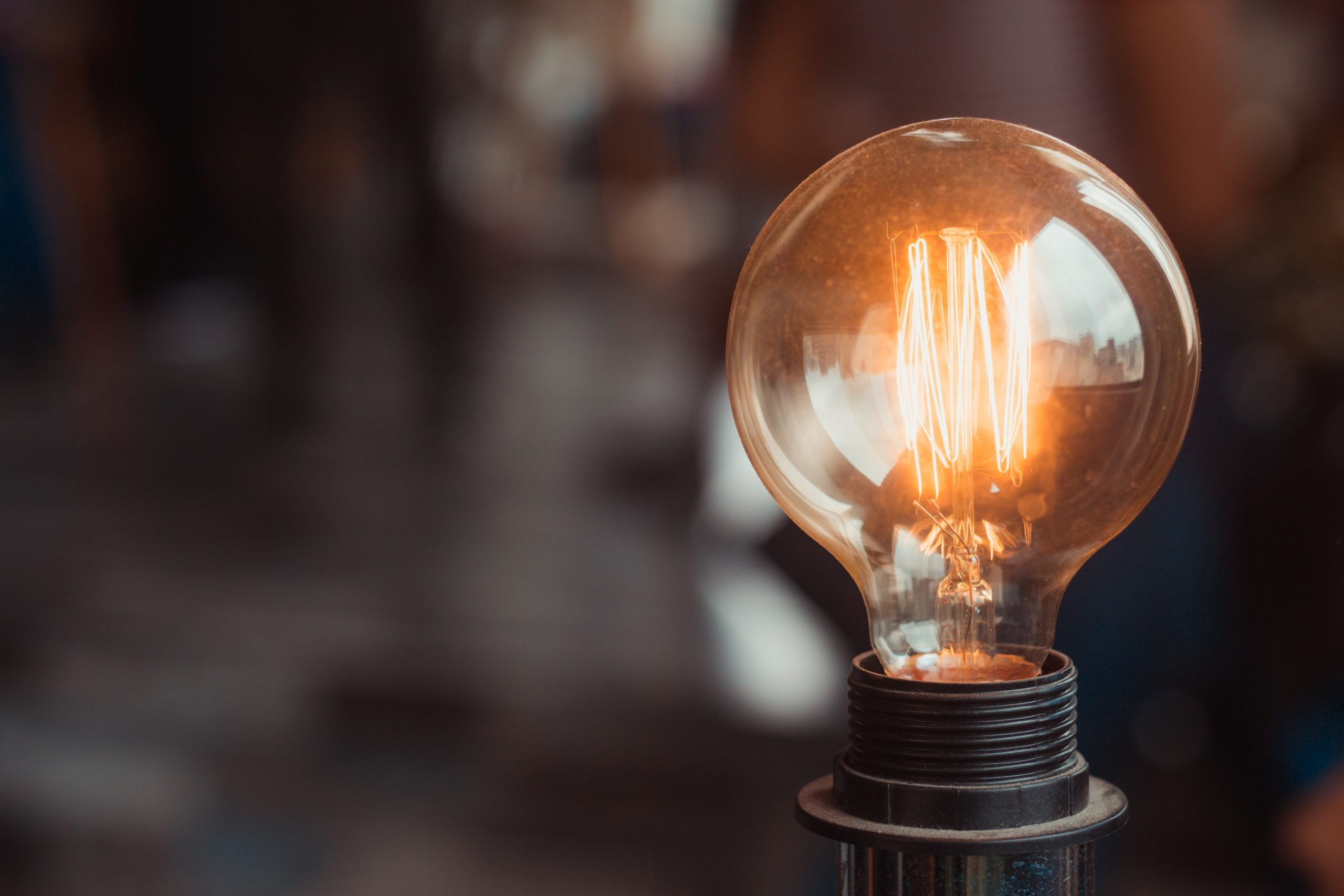 Electricity selective focus photography of turned on light bulb 2177473 scaled