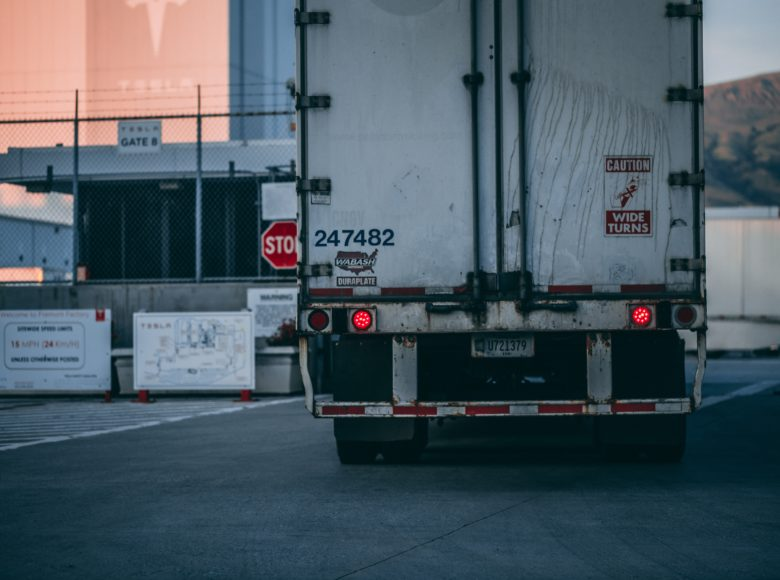 Freight white freight truck close up photography 2449454 scaled